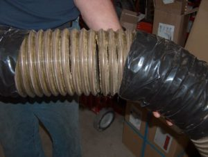 "6"" diameter ester based hose"
